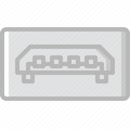 b, cable, connector, micro, plug, usb icon