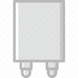 cable, charger, connector, plug, socket icon