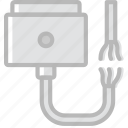 broken, cable, connector, magsafe, plug icon
