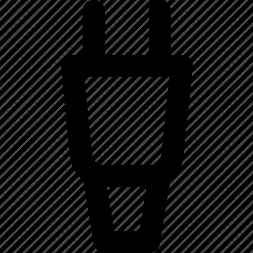 Connector, plug, cable icon