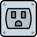 cable, connector, plug, socket, us
