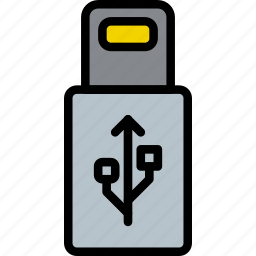 cable, connector, plug, usb icon