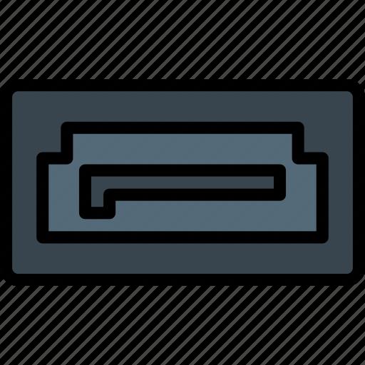 cable, connector, plug, port, sata icon