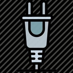 cable, connector, plug icon