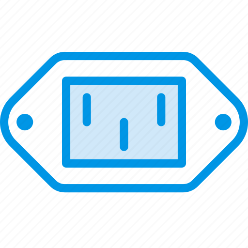 cable, connector, plug, port, power, supply icon