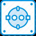 connector, eu, plug, cable, socket icon