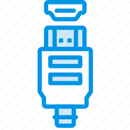 cable, connector, hdmi, plug icon