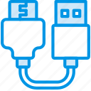 plug, usb, cable, connector, to, hdmi