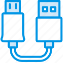 cable, connector, plug, to, usb