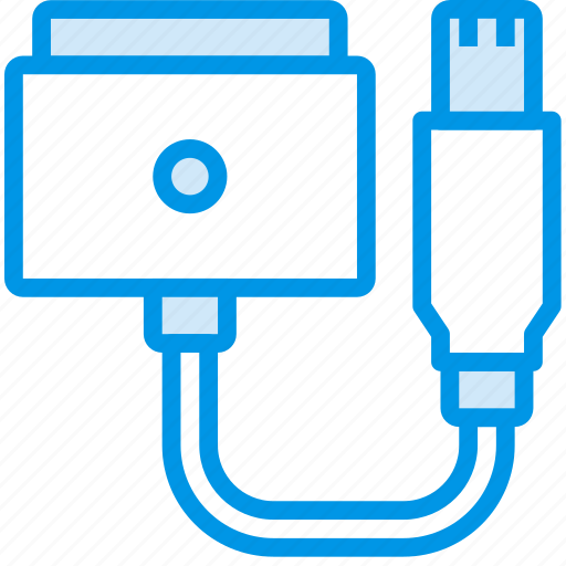 cable, connector, magsafe, plug, to, usb icon