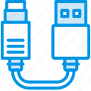 cable, connector, hdmi, plug, to, usb icon