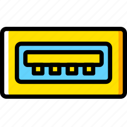 a, cable, connector, plug, type, usb icon