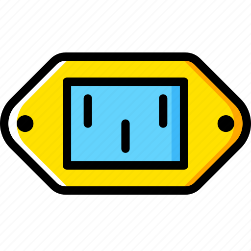 Cable, connector, plug, port, power, supply icon - Download on Iconfinder