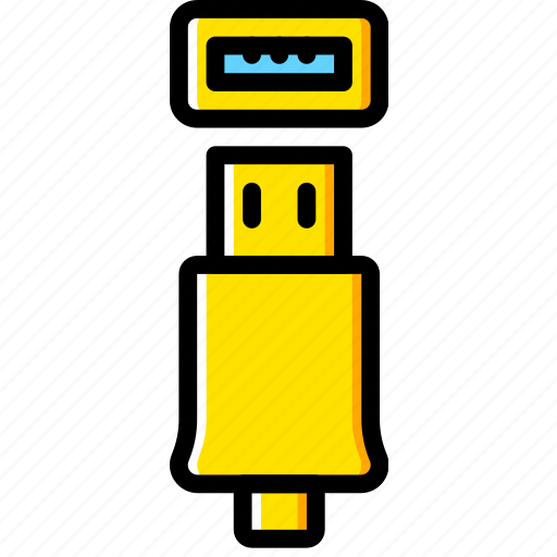 Connector, plug, usb, cable icon