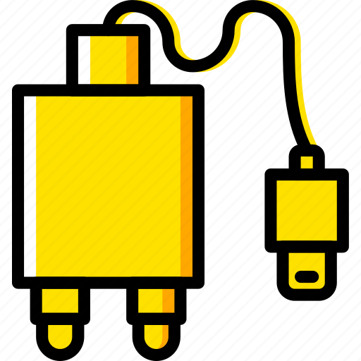 Connector, charger, plug, cable icon