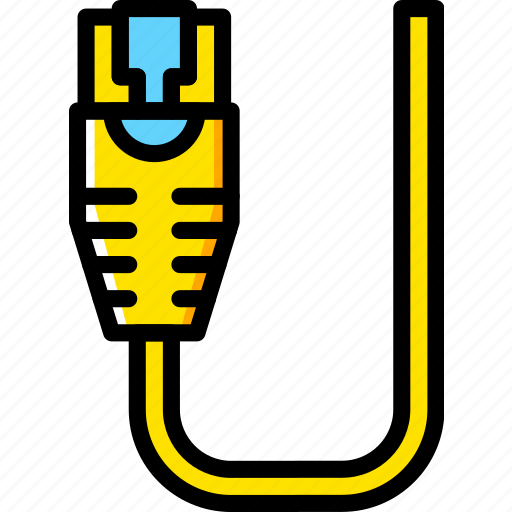 Cable, connector, ethernet, plug icon - Download on Iconfinder