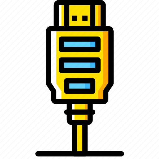 Cable, connector, hdmi, plug icon - Download on Iconfinder