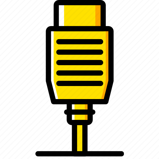 Connector, plug, cable, hdmi icon