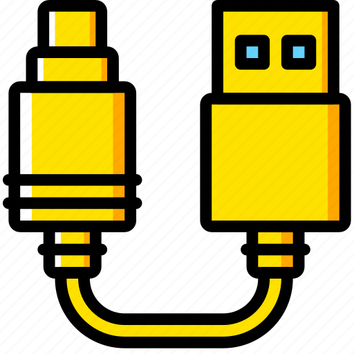 Audio, cable, connector, plug, to, usb icon - Download on Iconfinder