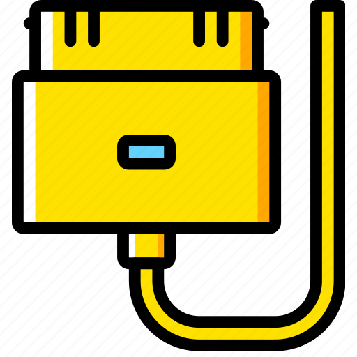 cable, connector, iphone, plug icon