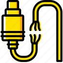 broken, cable, connector, plug, ps icon