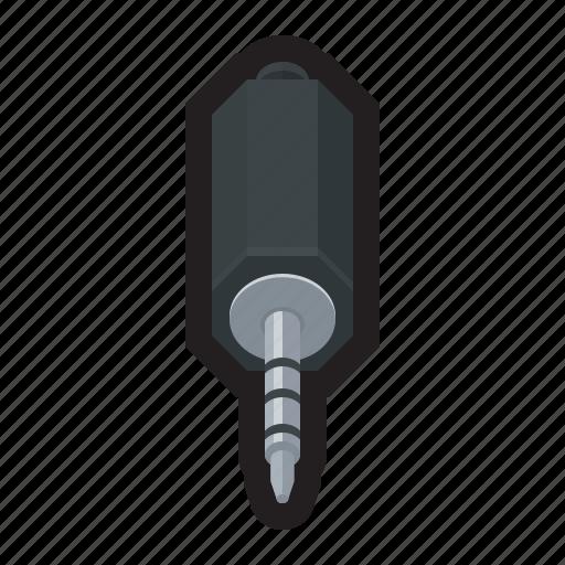 audio, connector, headphones, jack, music, stereo icon