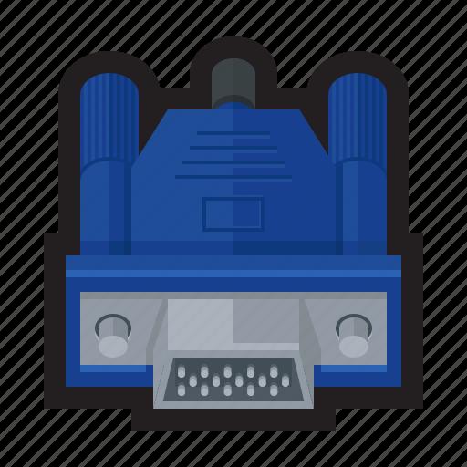 analog, array, display, graphics, monitor, vga, video icon