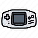 advance, console, device, game, gameboy icon