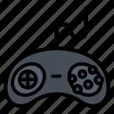 console, controller, game, joystick, sega icon