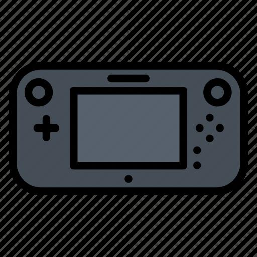 gadget, game, nintendo, u, wii icon
