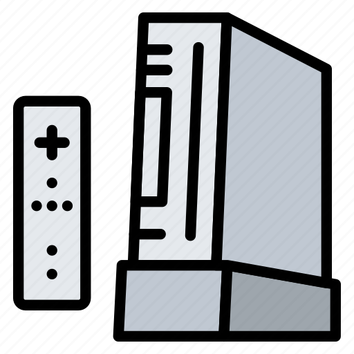 console, game, nintendo, technology, wi icon