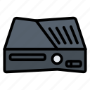 console, device, gadget, game, xbox 36 icon