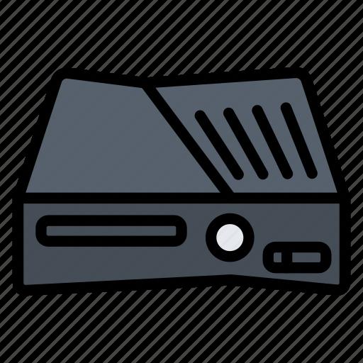 console, device, gadget, game, xbox 36 icon