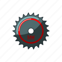 blade, construction, equipment, machine, saw, tool icon