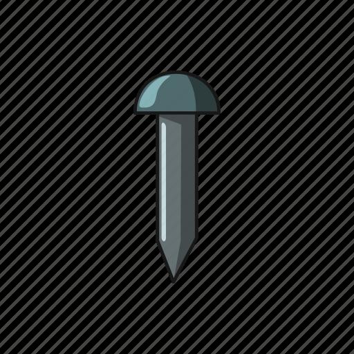 construction, metal, nail, screw icon