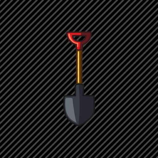 construction, equi, garden, shovel, tool icon