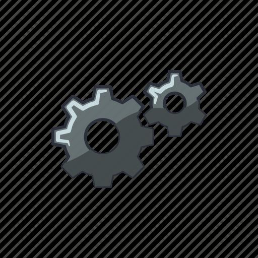 construction, gear, repair, wheel icon