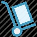 cargo, cargo cart, cart, construction, delivery, warehouse icon