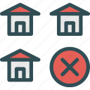 building, cancel, home, house
