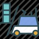 building, heavy, materials, lift, truck, transport, er