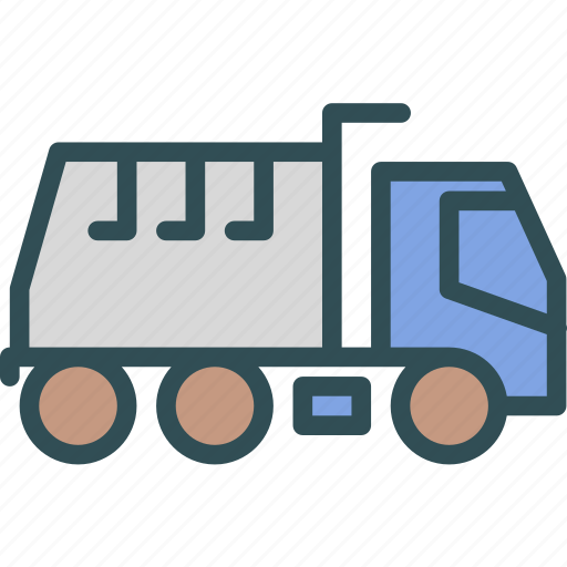 car, mud, transport, truck icon