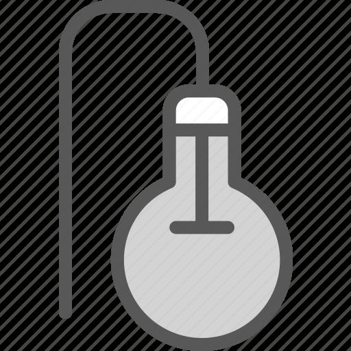 bulb, electric, light icon