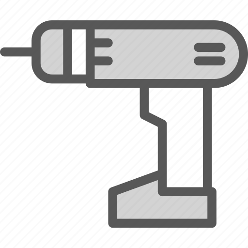 auto, contruction, drill, man, manual, tool, worker icon