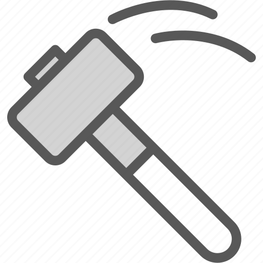 hammer, instruments, manualhit, nails, tool, work icon