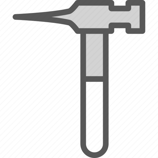 instruments, manual, nailhammer, nails, tool, work icon
