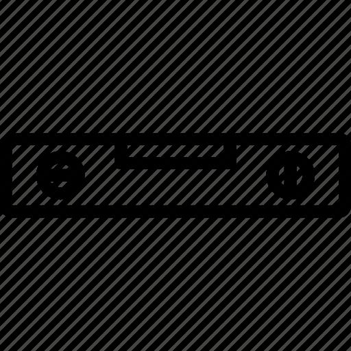 boloboc, laser, level, leveler icon