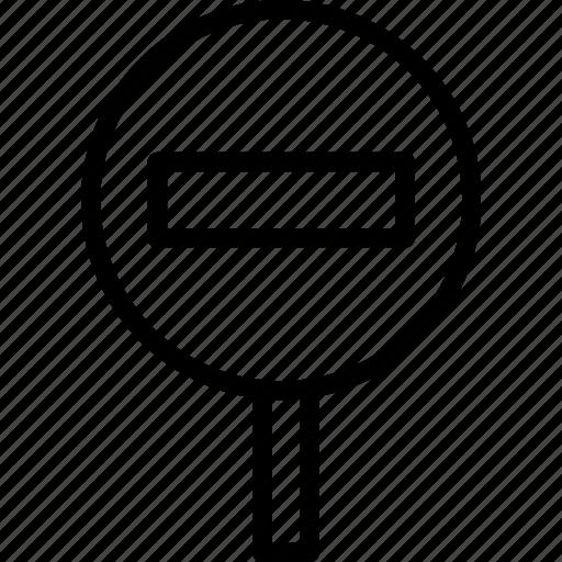 attention, forbidden, warning icon