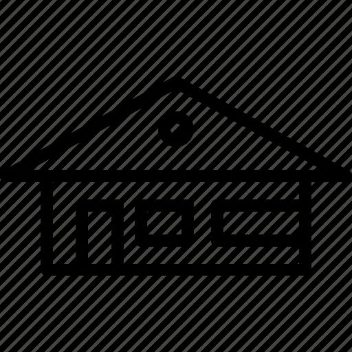 building, farm, home, house icon