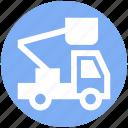 concrete bulldozer, construction, construction crane, crane, lifter, vehicle