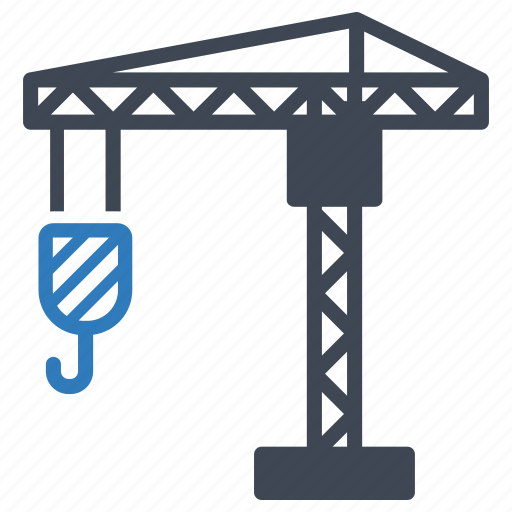 construction, crane, industry, tower icon